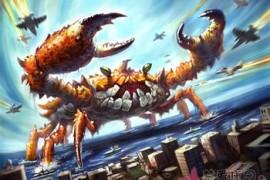 和谐社会。河蟹社会。